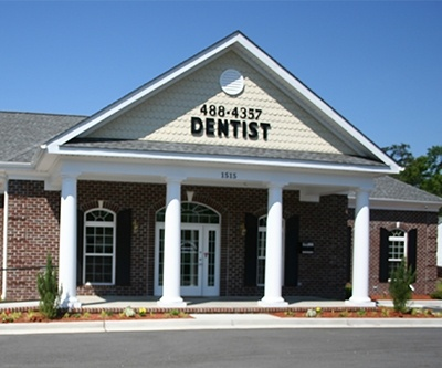 Outside view of dental office building
